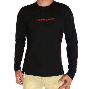 De Puta Madre Herren T-Shirt Langarm,SU10