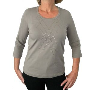 Delmod Damen-Shirt, 3/4 Arm
