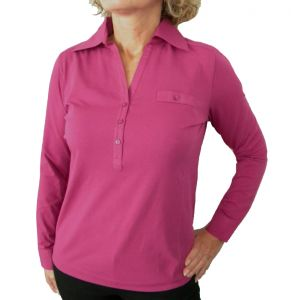 Delmod Damen Polo-Shirt