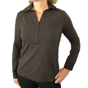 Delmod Damen Polo-Shirt, 1/1 Arm