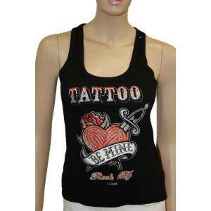 Fashion Girl Tank-Top TATTOO