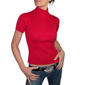 Tommy Hilfiger Damen Halbarm-Pullover,