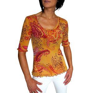 NICE CONNECTION Damen T-Shirt 1/2 Arm mit Druck