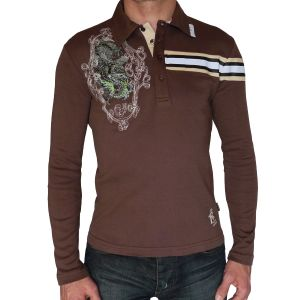 Rusty Neal Poloshirt Langarm 350