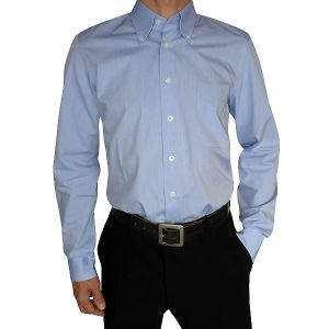 MIJAS Business Hemd Chambray Art. 51009