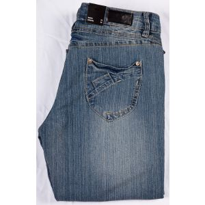TRB Damenjeans Silverline AVA Straight 102
