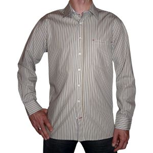 Sylt Lounge Herren Streifendesign Hemd 09103