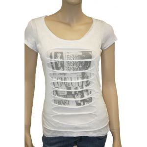 Damen T-Shirt used Look.