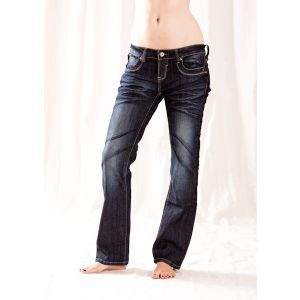 TRB Damenjeans Silverline AVASTRAIGHT104
