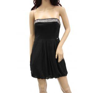 Guess Damen Bustier-Kleid mit Nietenbesatz