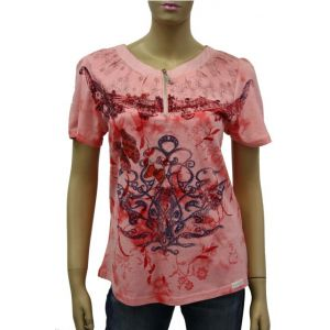 Blue Willi`s Damen T-Shirt  Butterfly 43136-9131-5625