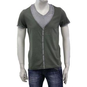 Sublevel Herren T-Shirt 2in1 H1515D20053A