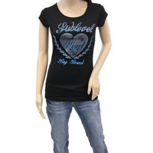 Sublevel Damen T-Shirt D1618D01310