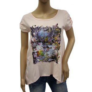 Sublevel Damen T-Shirt D1618D0096A