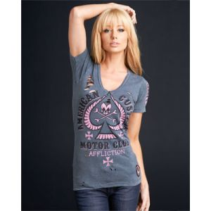 Affliction Damen T-Shirt  Dead Space AW4520