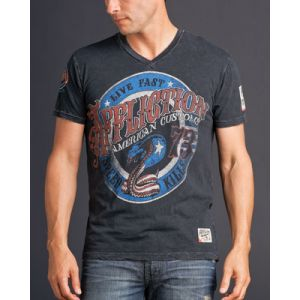 Affliction Herren T-Shirt -Kiss of Deat- 5251