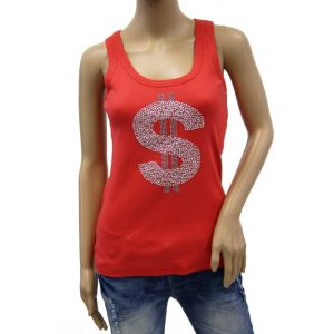 Malvin Damen Tank Top mit Strass 8028