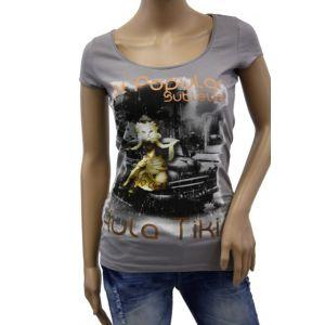 Sublevel Damen Rundhals Tshirt D1520 D00123C