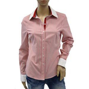 Malvin Damen Bluse 1/1 Arm Streifen 1450