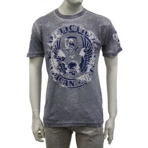 "Affliction Herren T-Shirt - A5086 - "" Muster Customs """
