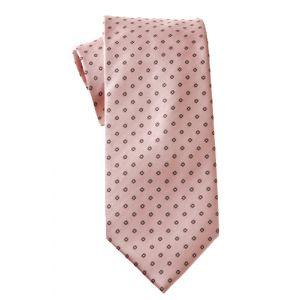 MIJAS Krawatte Design 8 rose/anthracit