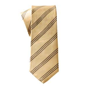 MIJAS Krawatte Design 11 yellow/anthracit