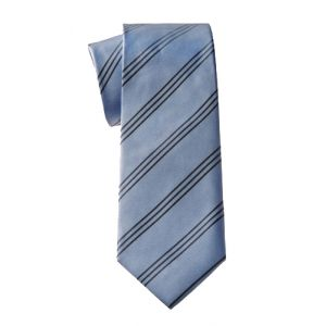 MIJAS Krawatte Design 11 sky/anthracit