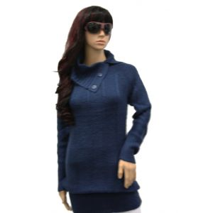 Rock Angel Damen Rollkragen-Pullover D9000W90077