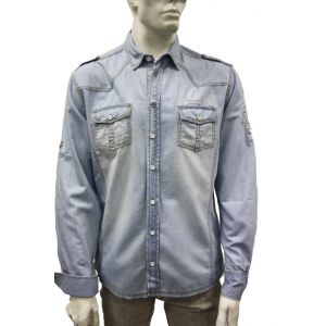 Urban-Surface Denim-Hemd Langarm H8139F10300L24
