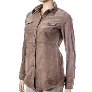 Fresh Made Damen Kordbluse D7333N 10134A