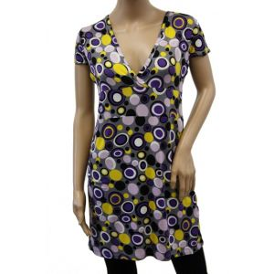 myMo Damen Tunika Kleid ¬ Arm