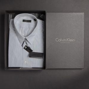 Calvin Klein Business Hemd 1/1 Arm gestreift      -  001500023-19-23 -