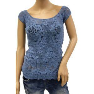 Rendez Vous Damen Spitzen T-Shirt