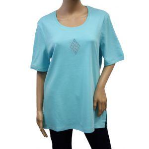 Bluhmod Damen T-Shirt 1/2 Arm Rundhals 8-1061