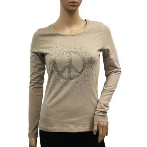 Jette Joop Damen Shirt mit Strass-Druck 84055