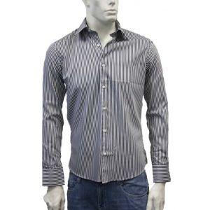 Milano Herren Hemd gestreift Slim Cut 71644-23