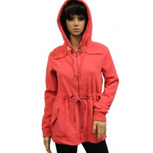 Urban Surface Damen Fleece Parka mit Kapuze - D1400A0661A