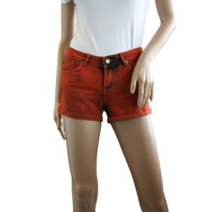 Sublevel Damen 5-Pocket Hotpants D8728E60569K-1