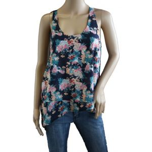 Fresh Made Damen Top Blumenmuster D5003N10332A