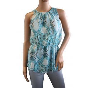 Fresh Made Damen Bluse ohne Arm D5003N10346A