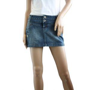 Sublevel Damen Jeans Minirock D8615E5553I87