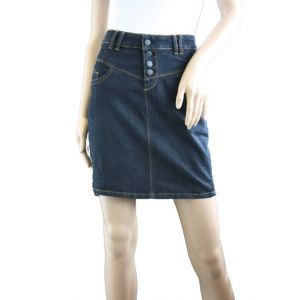 Fresh Made Damen Jeans Rock D856E50079I51