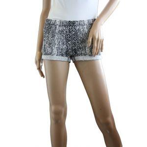 Sublevel Damen Treggins Hotpants allover Druck Des.01 Schlangendruck D6191W60378K