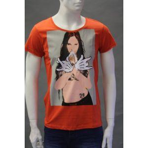 Sublevel Herren Druck T-Shirt H1597Z20321A - 1416066