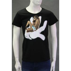 Sublevel Herren Druck T-Shirt H1597Z20321A - 1416068