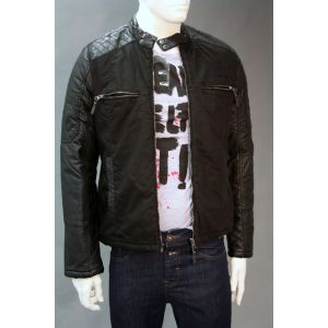 Eight2Nine Herren Biker-Jacke H7039Y44298AEN