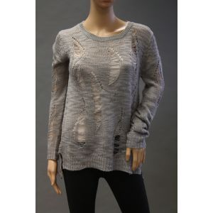 Eight2Nine Damen Pullover im Used Look D9011Z0440AEN