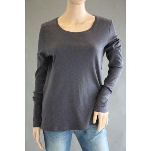 Z-One Damen Basic Langarmshirt 849855-888 - Bis Größe 48 -