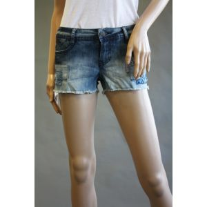 Fresh Made Jeansshorts mit Patches D8731E60924KL69