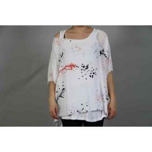 Italy Moda Damen-Shirt 2-teilig